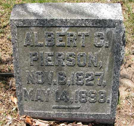 PIERSON, ALBERT C. - Union County, Ohio | ALBERT C. PIERSON - Ohio Gravestone Photos
