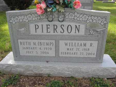 PIERSON, RUTH M. BUMP - Union County, Ohio | RUTH M. BUMP PIERSON - Ohio Gravestone Photos