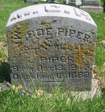 PIPER, MARTHA COE - Union County, Ohio | MARTHA COE PIPER - Ohio Gravestone Photos