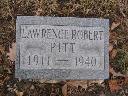 PITT, LAWRENCE ROBERT - Union County, Ohio | LAWRENCE ROBERT PITT - Ohio Gravestone Photos