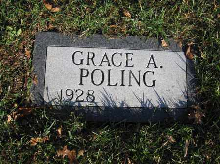 POLING, GRACE A. - Union County, Ohio | GRACE A. POLING - Ohio Gravestone Photos