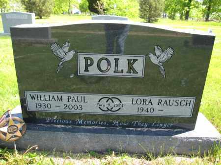 POLK, WILLIAM PAUL - Union County, Ohio | WILLIAM PAUL POLK - Ohio Gravestone Photos