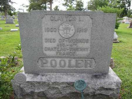 POOLER, CLAYTON - Union County, Ohio | CLAYTON POOLER - Ohio Gravestone Photos
