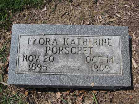 PORSCHET, FLORA KATHERINE - Union County, Ohio | FLORA KATHERINE PORSCHET - Ohio Gravestone Photos