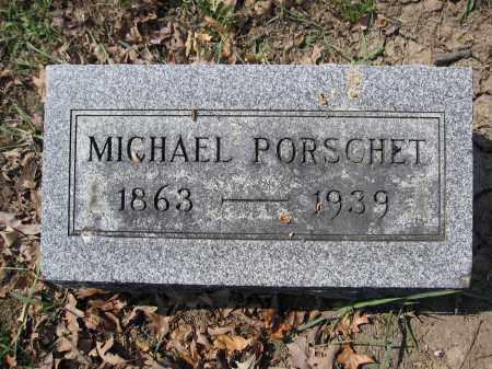 PORSCHET, MICHAEL - Union County, Ohio | MICHAEL PORSCHET - Ohio Gravestone Photos