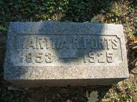 PORTS, MARTHA R. - Union County, Ohio | MARTHA R. PORTS - Ohio Gravestone Photos