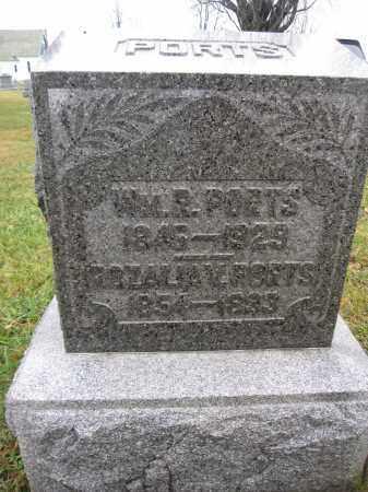 PORTS, WILLIAM R. - Union County, Ohio | WILLIAM R. PORTS - Ohio Gravestone Photos