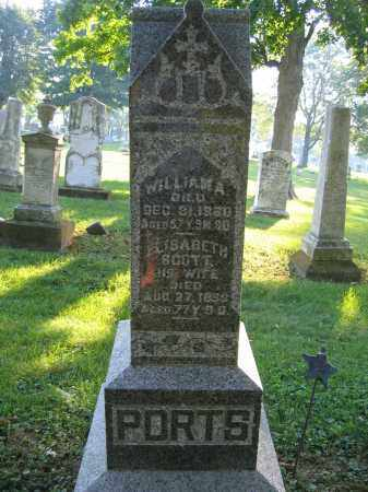PORTS, WILLIAM A. - Union County, Ohio | WILLIAM A. PORTS - Ohio Gravestone Photos