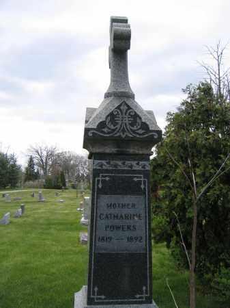 POWERS, CATHARINE - Union County, Ohio | CATHARINE POWERS - Ohio Gravestone Photos