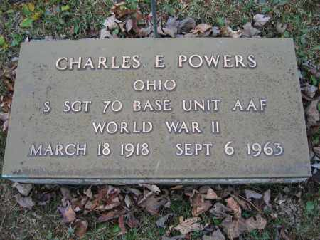 POWERS, CHARLES E. - Union County, Ohio | CHARLES E. POWERS - Ohio Gravestone Photos