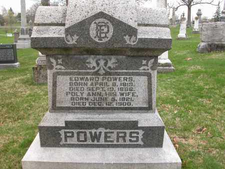 POWERS, POLY ANN - Union County, Ohio | POLY ANN POWERS - Ohio Gravestone Photos