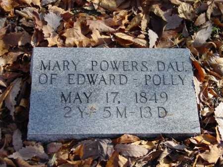 POWERS, MARY - Union County, Ohio | MARY POWERS - Ohio Gravestone Photos