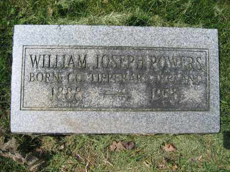 POWERS, WILLIAM JOSEPH - Union County, Ohio | WILLIAM JOSEPH POWERS - Ohio Gravestone Photos