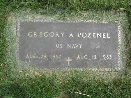 POZENEL, GREGORY A. - Union County, Ohio | GREGORY A. POZENEL - Ohio Gravestone Photos