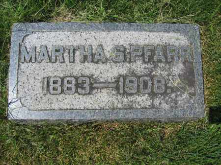 PRAFF, MARTHA S. - Union County, Ohio | MARTHA S. PRAFF - Ohio Gravestone Photos