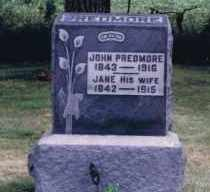 GARRETT PREDMORE, (ELIZA) JANE - Union County, Ohio | (ELIZA) JANE GARRETT PREDMORE - Ohio Gravestone Photos
