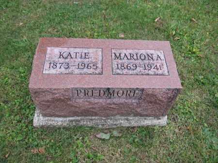 PREDMORE, KATIE - Union County, Ohio | KATIE PREDMORE - Ohio Gravestone Photos