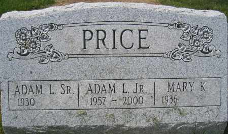 PRICE, ADAM L., JR. - Union County, Ohio | ADAM L., JR. PRICE - Ohio Gravestone Photos