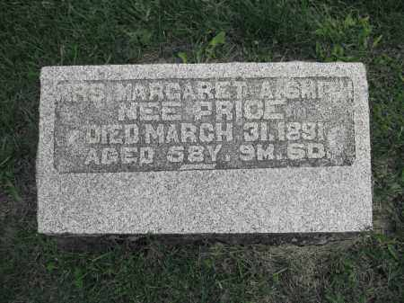 PRICE, MARGARET A. SMITH NEE - Union County, Ohio | MARGARET A. SMITH NEE PRICE - Ohio Gravestone Photos