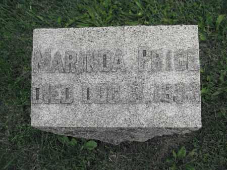 PRICE, MARINDA - Union County, Ohio | MARINDA PRICE - Ohio Gravestone Photos