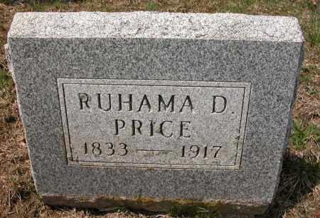 PRICE, RUTHAMA D. - Union County, Ohio | RUTHAMA D. PRICE - Ohio Gravestone Photos