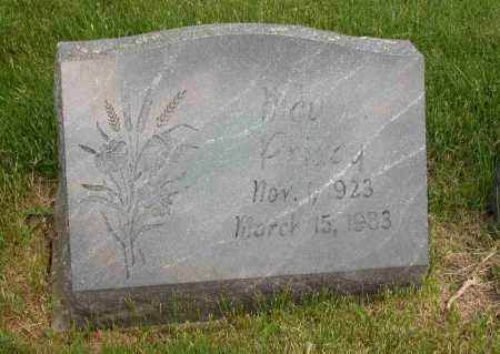 PRIDAY, MAY - Union County, Ohio | MAY PRIDAY - Ohio Gravestone Photos
