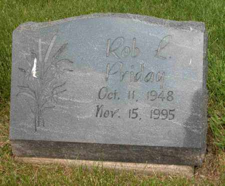 PRIDAY, ROB L. - Union County, Ohio | ROB L. PRIDAY - Ohio Gravestone Photos