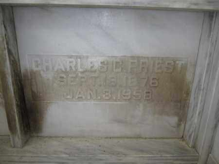 PRIEST, CHARLES C. - Union County, Ohio | CHARLES C. PRIEST - Ohio Gravestone Photos