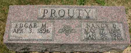 PROUTY, EDGAR M. - Union County, Ohio | EDGAR M. PROUTY - Ohio Gravestone Photos