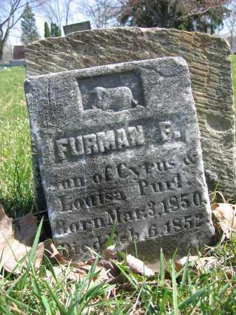 PURL, FURMAN F. - Union County, Ohio   FURMAN F. PURL - Ohio Gravestone Photos