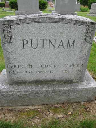 PUTNAM, JAMES A. - Union County, Ohio | JAMES A. PUTNAM - Ohio Gravestone Photos