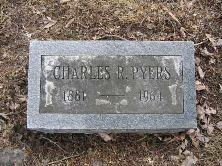 PYERS, CHARLES R. - Union County, Ohio | CHARLES R. PYERS - Ohio Gravestone Photos