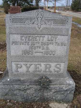 PYERS, EVERETT LOY - Union County, Ohio | EVERETT LOY PYERS - Ohio Gravestone Photos