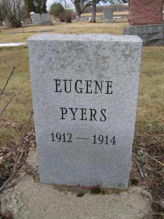 PYERS, EUGENE - Union County, Ohio | EUGENE PYERS - Ohio Gravestone Photos