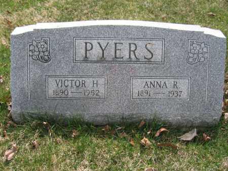 PYERS, ANNA R. - Union County, Ohio | ANNA R. PYERS - Ohio Gravestone Photos