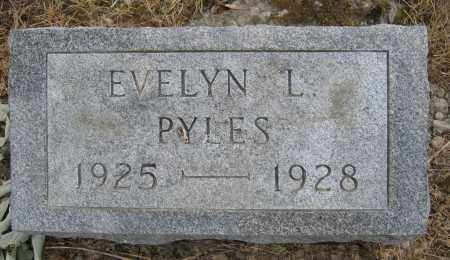 PYLES, EVELYN L. - Union County, Ohio | EVELYN L. PYLES - Ohio Gravestone Photos