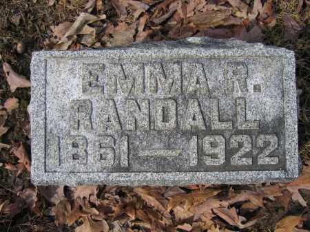 RANDALL, EMMA R. - Union County, Ohio | EMMA R. RANDALL - Ohio Gravestone Photos
