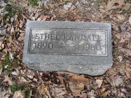 RANDALL, ETHEL - Union County, Ohio | ETHEL RANDALL - Ohio Gravestone Photos