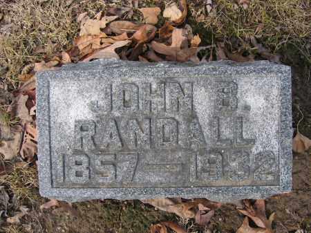 RANDALL, JOHN B. - Union County, Ohio | JOHN B. RANDALL - Ohio Gravestone Photos