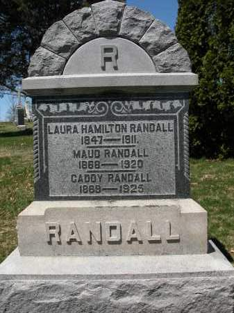 RANDALL, MAUD - Union County, Ohio | MAUD RANDALL - Ohio Gravestone Photos
