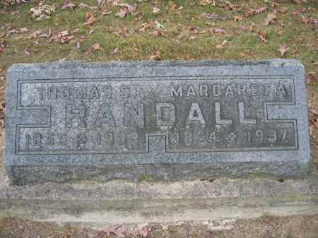RANDALL, MARGARET A. - Union County, Ohio | MARGARET A. RANDALL - Ohio Gravestone Photos