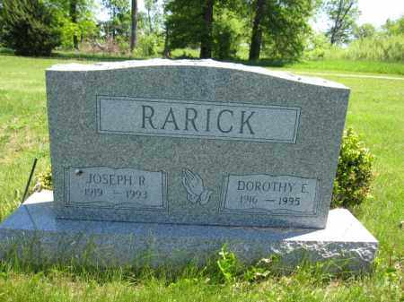 RARICK, DOROTHY E. - Union County, Ohio | DOROTHY E. RARICK - Ohio Gravestone Photos