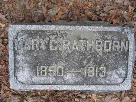 RATHBORN, MARY C. - Union County, Ohio | MARY C. RATHBORN - Ohio Gravestone Photos