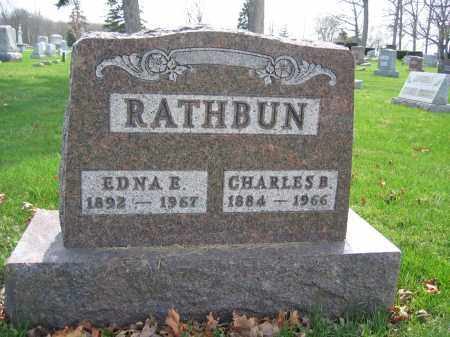RATHBUN, EDNA E. - Union County, Ohio | EDNA E. RATHBUN - Ohio Gravestone Photos