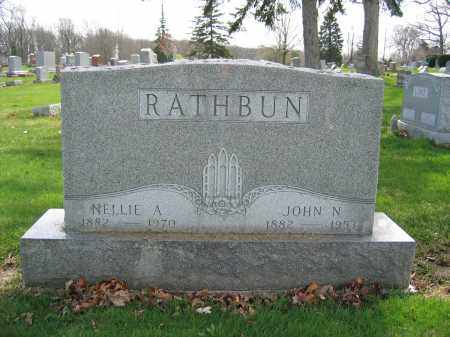 RATHBUN, NELLIE A - Union County, Ohio | NELLIE A RATHBUN - Ohio Gravestone Photos