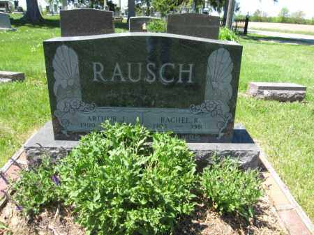 RAUSCH, ARTHUR J. - Union County, Ohio | ARTHUR J. RAUSCH - Ohio Gravestone Photos