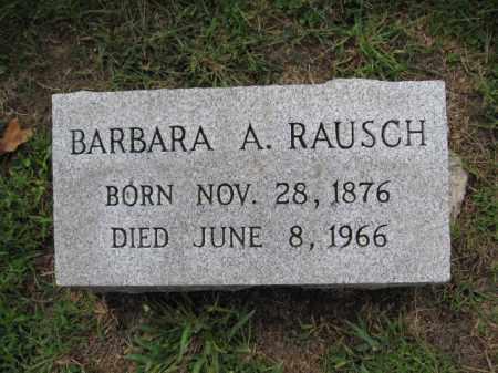 RAUSCH, BARBARA A. - Union County, Ohio | BARBARA A. RAUSCH - Ohio Gravestone Photos
