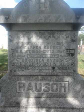 RAUSCH, CASPER - Union County, Ohio | CASPER RAUSCH - Ohio Gravestone Photos