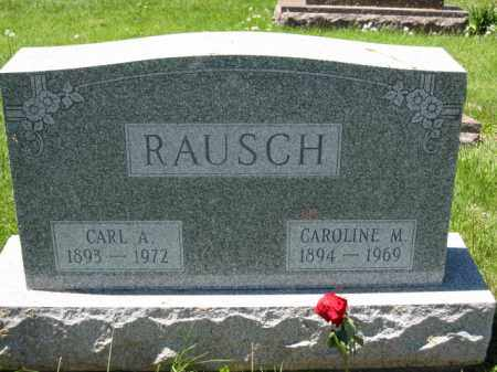 RAUSCH, CAROLINE M. - Union County, Ohio | CAROLINE M. RAUSCH - Ohio Gravestone Photos