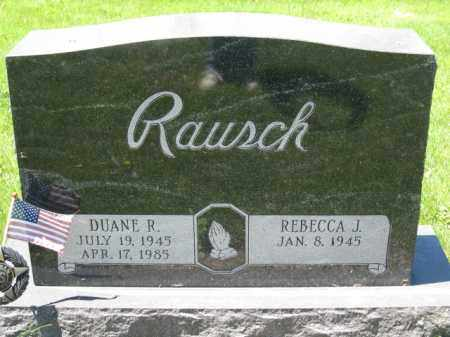 RAUSCH, REBECCA J. - Union County, Ohio | REBECCA J. RAUSCH - Ohio Gravestone Photos